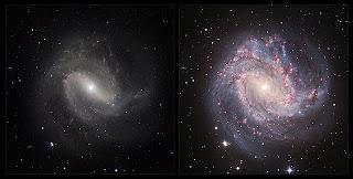 Nueva visión de M83, una galaxia espiral clásica. ESO / M. Gieles. Agradecimientos: Mischa Schirmer