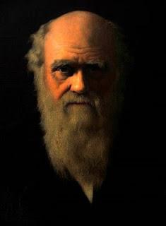 Un retrato de Charles Darwin expuesto en su casa en Downe Village (Kent, Reino Unido)- EFE