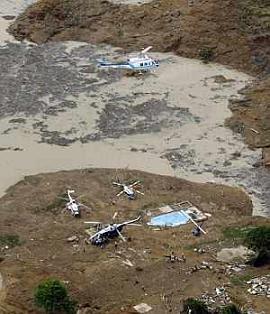 Derrumbe en Chiapas
