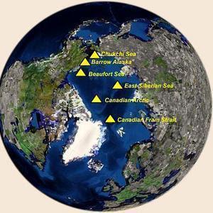 EE.UU. desclasifica las imágenes inéditas del Ártico