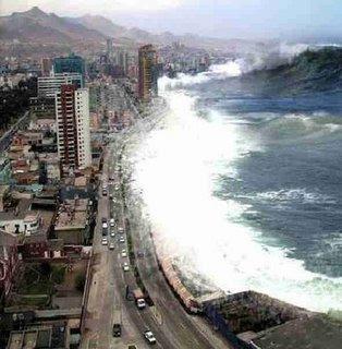 Los tsunamis amenazan el Pacífico