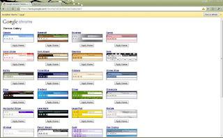 Nuevos temas para Google Chrome