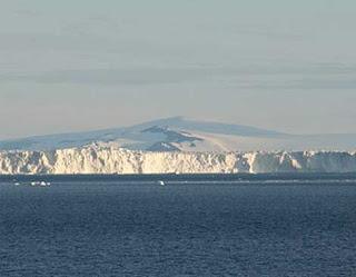 Imagen del glaciar de la Isla de Pinos. Universidad de Leeds.