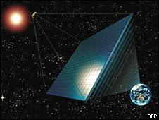 Una central eléctrica... en el espacio