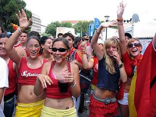 España es uno de los países del mundo donde más feliz se vive