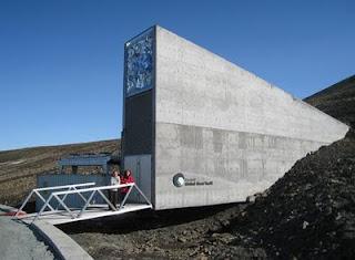 Entrada del Depósito Global de Semillas de Svalbard (Fotografía: Carlos M. Duarte, CSIC)