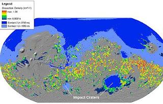 Un gran océano cubrió parte del planeta Marte