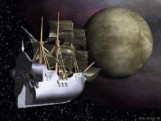 El primer barco a una luna de Saturno