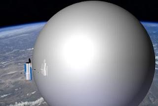 Unos globos gigantes podrían limpiar la basura espacial. NASA