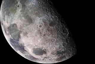 El diámetro de la Luna se redujo 100 metros en los últimos mil millones de años