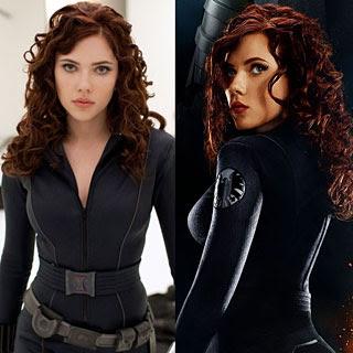 Scarlett Johansson estará con Robert Downey Jr en Gravity