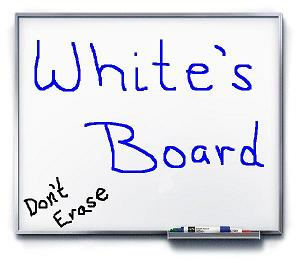 White&#39;s Board