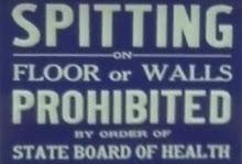 No Spitting!