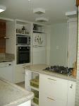 Cozinha de cliente