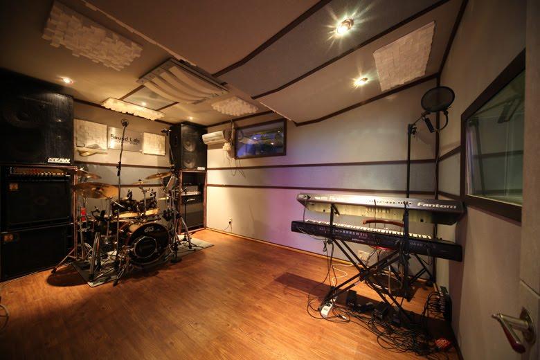 Music Practice Spaces In Seoul Sound Lab Studio Jeongja