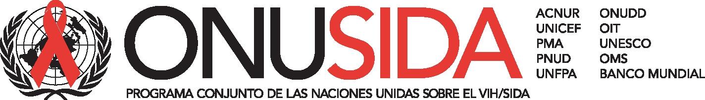 Logotipo de ONUSIDA