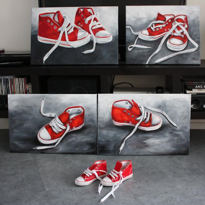 laat ook jouw schoenen schilderen