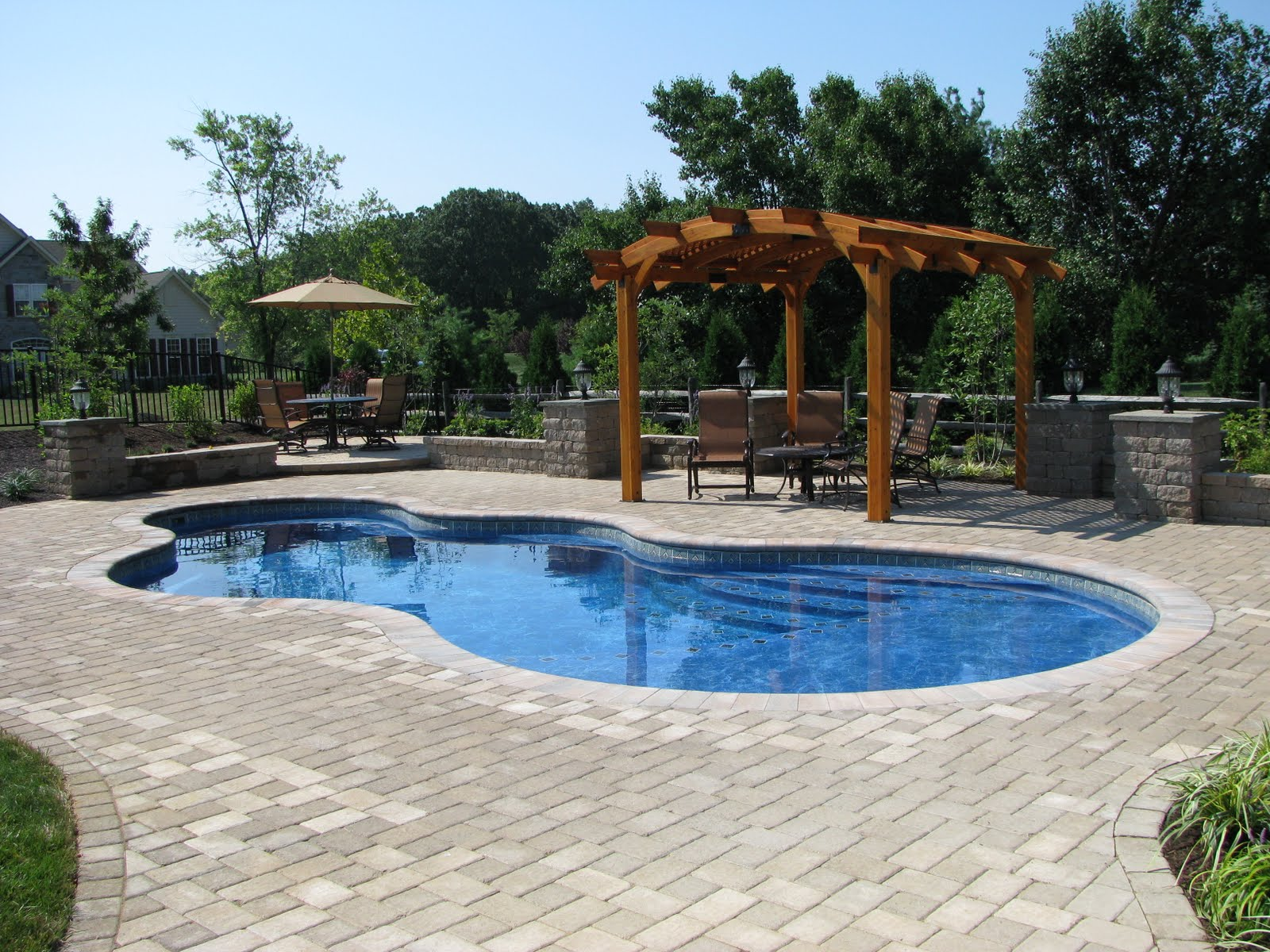 Crystal palace pools blog green ridge landscaping inc for Pool landscaping