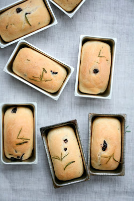 Baked on Monday - Olive and Rosemary mini breads