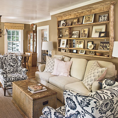 Cottage Living Room Decorating Ideas Home Decorating Ideas