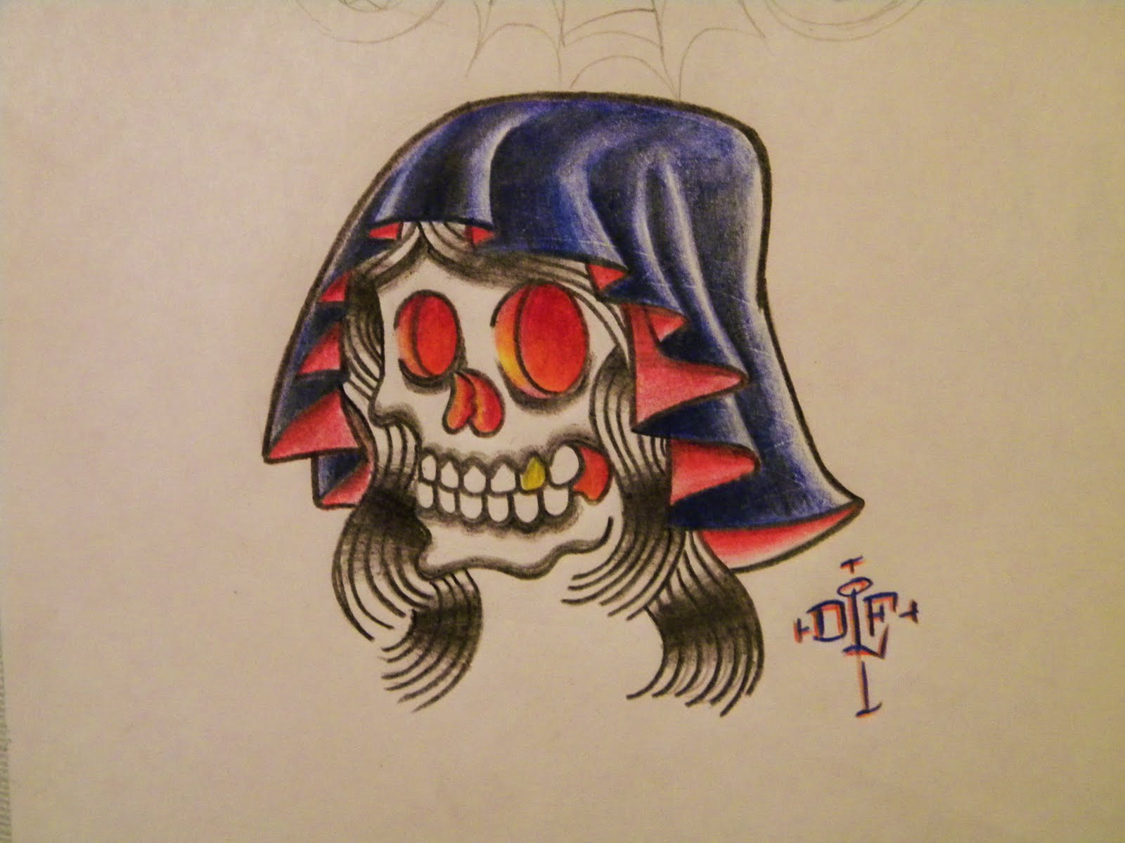 Fantasy 2011 Shoulders Tattoos