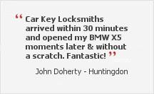auto locksmith customer quote