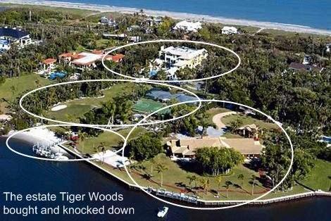 Jupiter Real Estate and Lifestyle: Tiger Woods estate on Jupiter Island