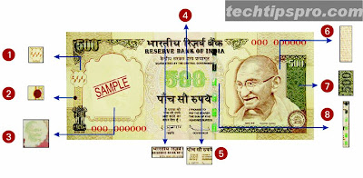 fake 1000 Rs | 500 Rs currency note