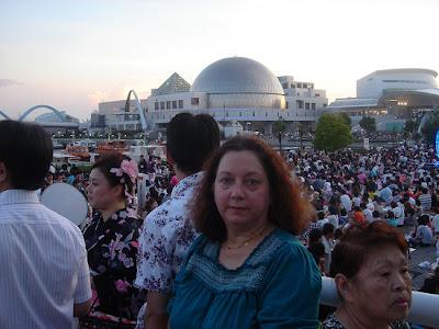 Festiva no porto de Nagoya