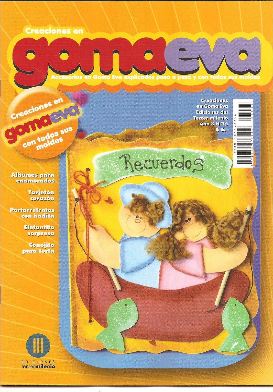 Revistas de Manualidades Para Descargar: Goma Eva N°15