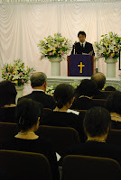 Picture Postcards to Japan: Japanese funeral
