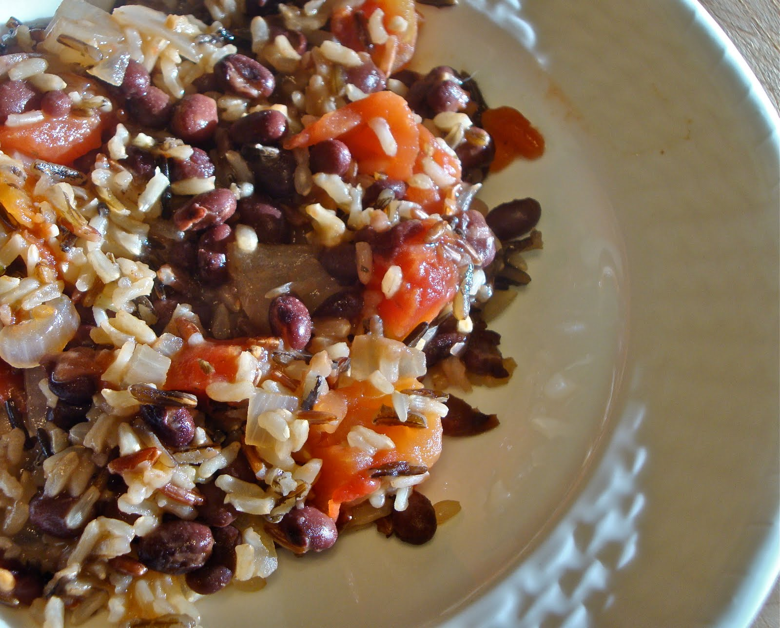 Kitchen Ambition: Easy Black Beans and Rice