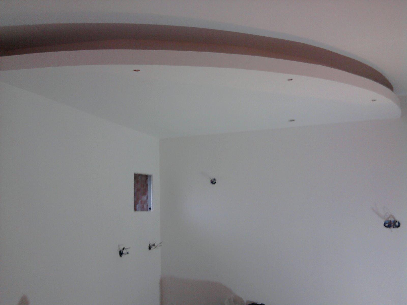 La r novation chez christophe plafond d croch for Renovation plafond placo