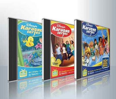 Disney's official karaoke series CD+Gs