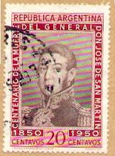17 de agosto, Aniversario de la muerte del Gral San Martín