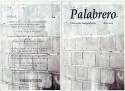 """""""Palabrero"""", publicación independiente"""