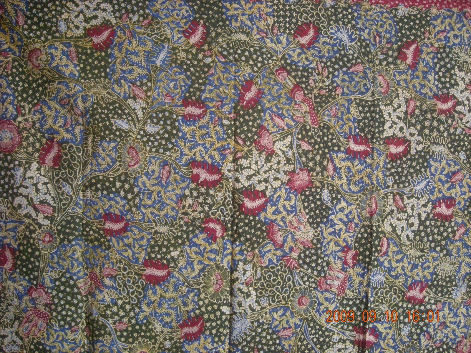 Jenis Batik Tulis Produksi Batik Tulis Lasem Warna Tersedia Kombinasi Hitam Biru Putih Warna Lain Tergantung Pesanan