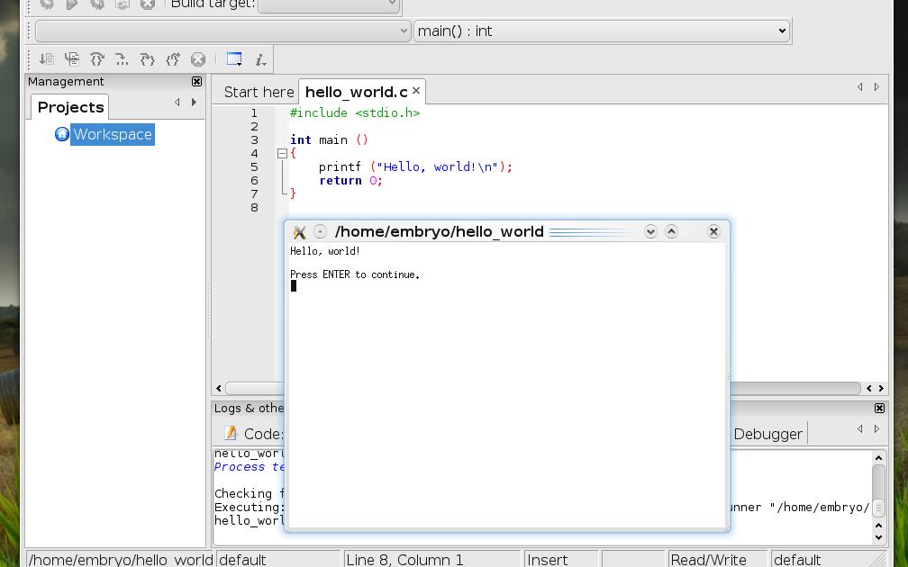 Tuxarena Blog Compiling C C Code In Ubuntu And