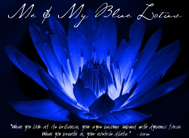 Me and My Blue Lotus