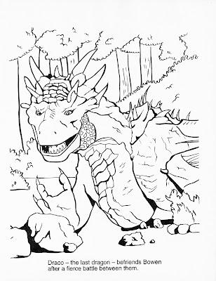 Dragonheart Coloring Activity Book