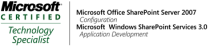 MCTS SharePoint 2007, WSS 3.0