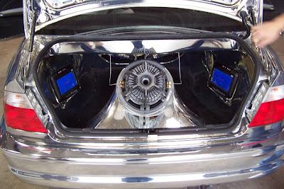 BMW M3 E46 boot