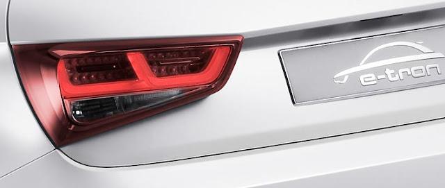 Audi A1 e-tron exterior