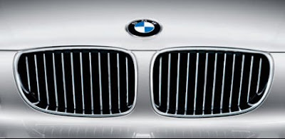 BMW 130i front grille