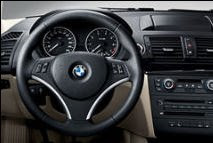 BMW Leather sports steering wheel