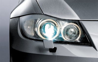 BMW Headlight washer system