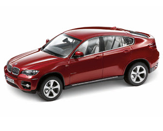 BMW X6 (E71) Red miniature