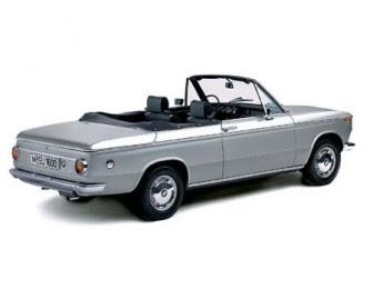 BMW 1600 convertible miniature