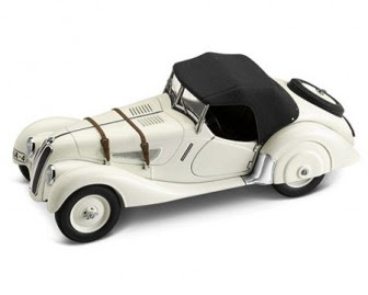 BMW 328 Roadster 1936-39 miniature