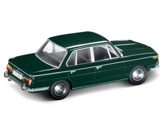 BMW 2000 Sedan green miniature